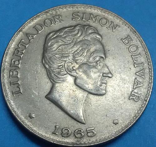 colombia moneda 50 centavos 1965