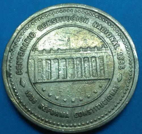 colombia moneda 50 pesos 1987