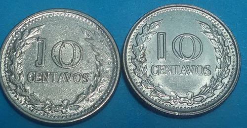 colombia variedad 10 cent 1972 (mirar el 1 de 10 centavos)