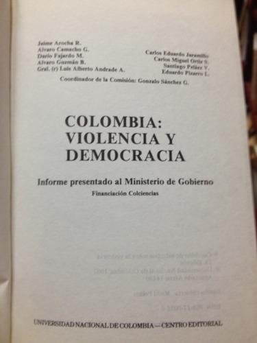 colombia: violencia y democracia