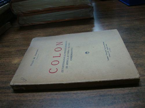 colon. tulio m. cestero