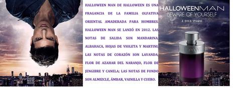 colonia halloween man 200ml eau de toilette original(100%)