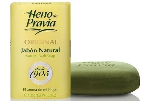 colonia heno de pravia 250ml + jabón 100g con envoltorio