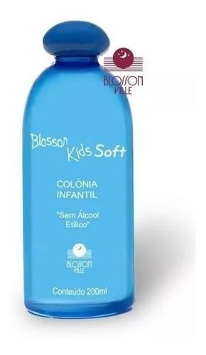 colonia infantil blosson kids suavidad soft sem álcool 200ml