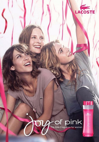 colonia lacoste joy of pink para dama original importada