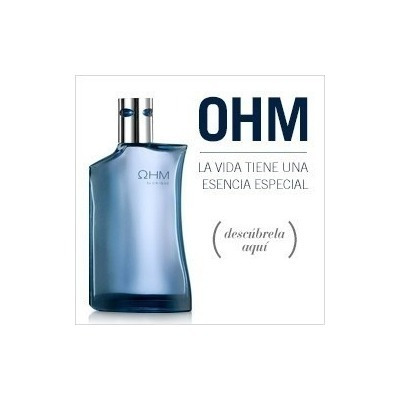 colonia ohm by yanbal u ohm black