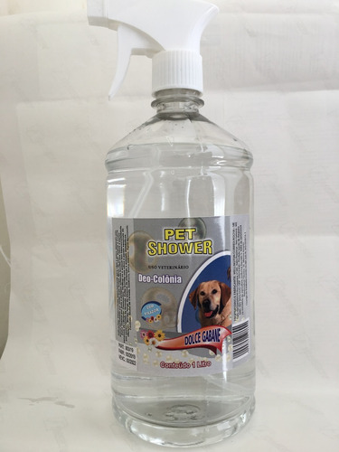 colonia pet shower  dolce gabane 1 litro