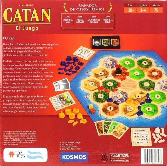 Colonos De Catan Juego De Mesa Ingenio Estrategia Top Toys 2 049