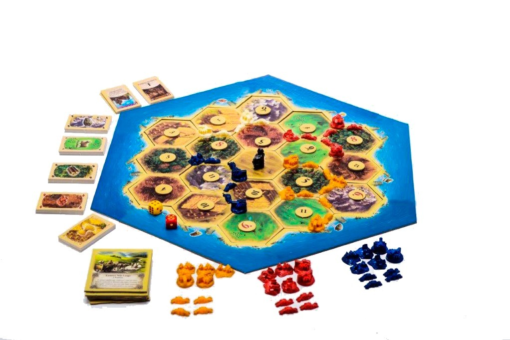 Colonos De Catan Juegos Mesa Top Toys Infantiles Estrategia