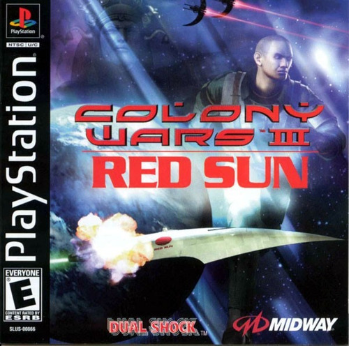 colony wars iii red sun  ps1 compatible con ps2
