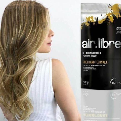 Color Air Libre Pó Descolorante Truss 500gr - R$ 219,00 em Mercado Livre