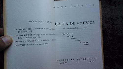 color de américa sady zañartu 1969 excelente estado