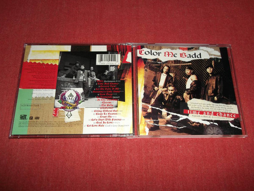 color me badd - time and chance cd usa ed 1993 mdisk