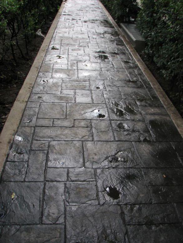 Color para concreto estampado en mercado libre for Precio del mercado de concreto encerado