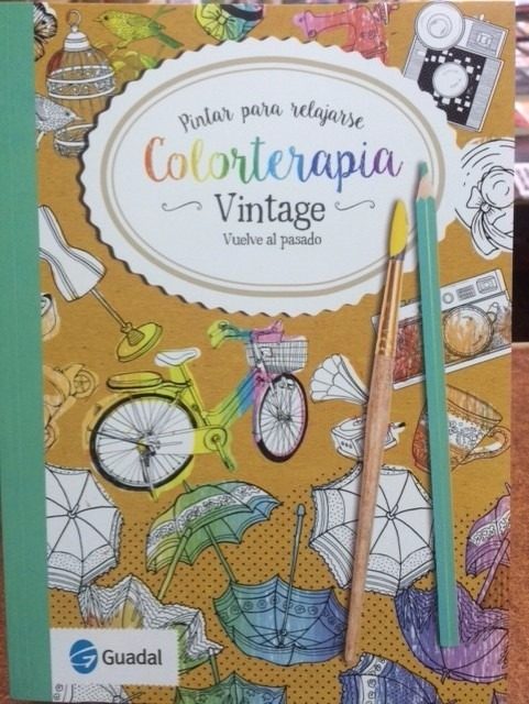 Color Terapia Libro Para Colorear Vintage Guadal - $ 170,28 en ...