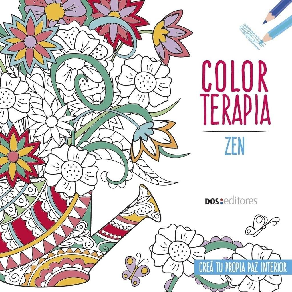 Color Terapia - Regalo De Primavera X 3 Libros - $ 220,00 en Mercado ...