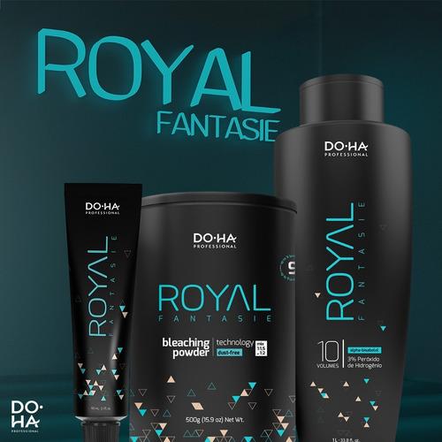 coloração doctor hair doha royal fantasie - tintura creme 60