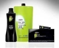 coloração loreal kit inoa 60 gr + oxidante 60ml + sh 60ml
