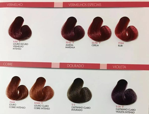 coloração royal colors  fit cosmetics
