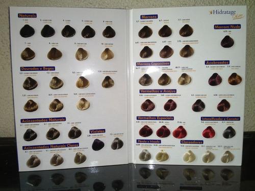 colorações diversas hidratage 60g (cada) c/ 11 unidades