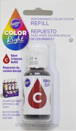 colorante carmin wilton original 19ml 610-948