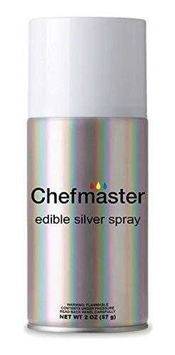 colorante en aerosol para reposteria chefmaster 2 0z 57g