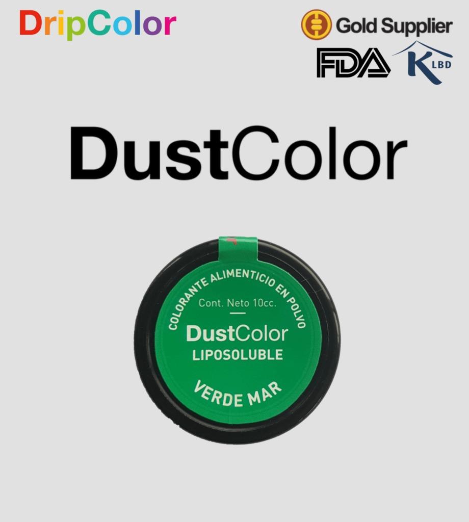 Colorante Liposoluble Dustcolor - Verde Mar - $ 100,00 en Mercado Libre