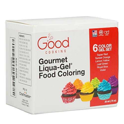 Colorante Para Alimentos Kit De 6 Colores - $ 86.900 en Mercado Libre