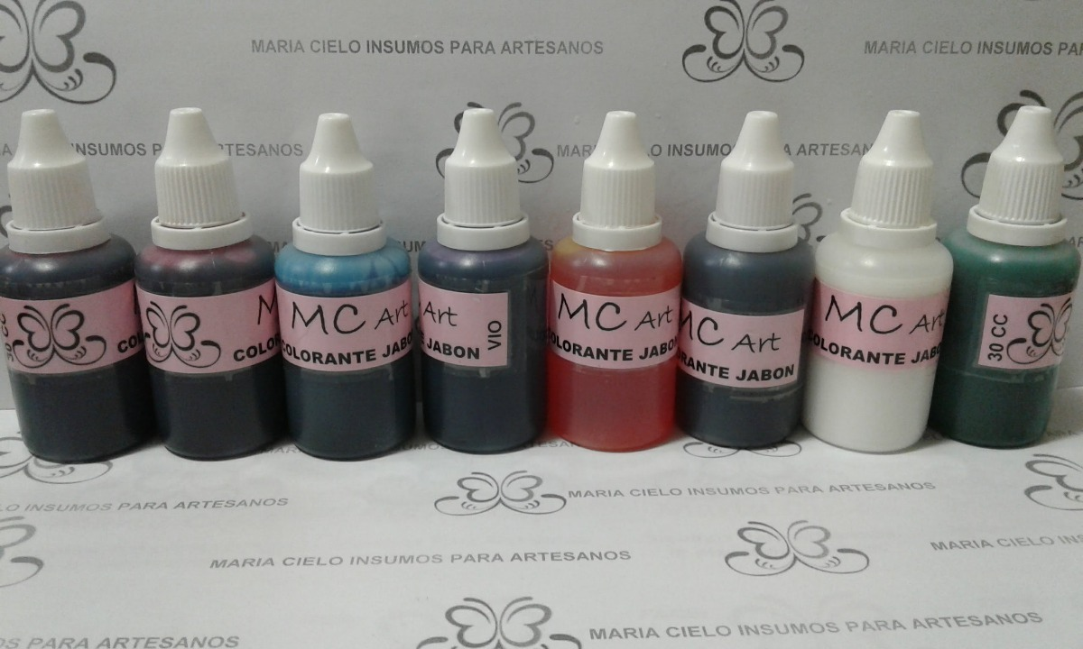 Colorante Para Jabones Concentrado X 30 Cc Mc Art - $ 28,00 en ...