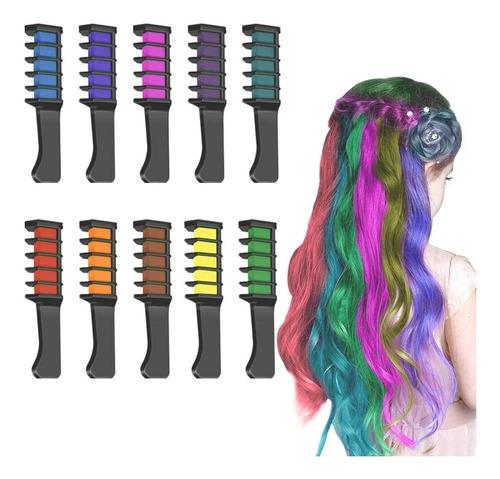 colorante pintura tinte temporal para el cabello lavable