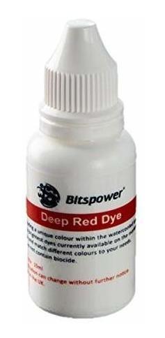 colorante refrigerante bitspower, 15 ml, rojo oscuro