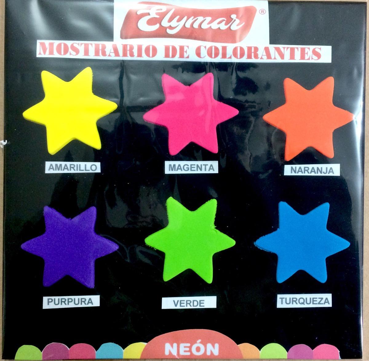 Colorantes Neón En Gel - Elymar - S/ 30,00 en Mercado Libre