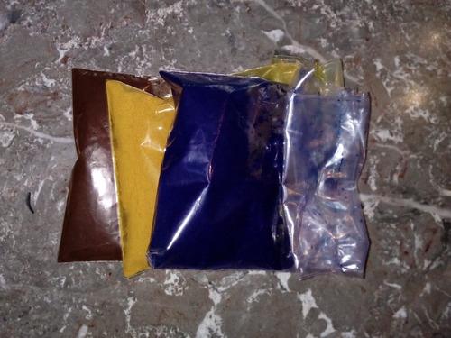 colorantes vegetales naturales azul y rojo  (30 g.)