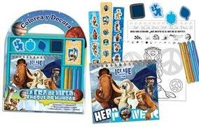 Colorea Y Decora Era De Hielo Col Disney Baloo Plow E628