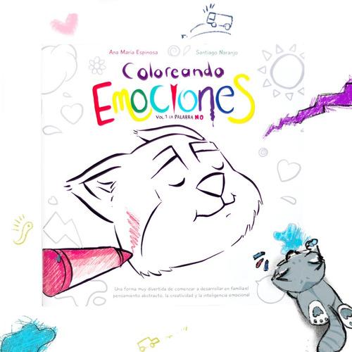 coloreando emociones x3 - libro para colorear