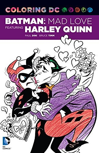 Colorear Dc Batman Mad Love Con Harley Quinn Dc Comics Lib