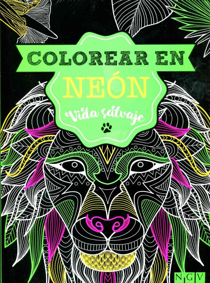 Colorear En Neon Vida Salvaje - Mandalas / Relajacion / Ngv ...