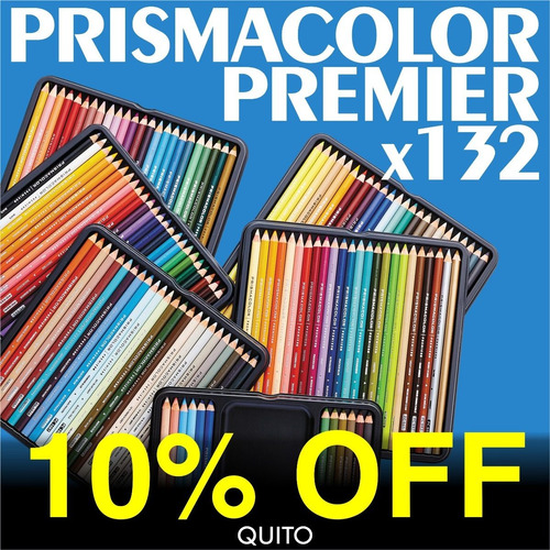 colores 132 prismacolor premier + blender + carboncillo