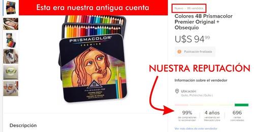 colores 132 prismacolor premier original + obsequio blender