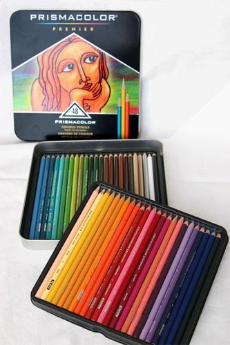 colores 48 prismacolor premier original + obsequio