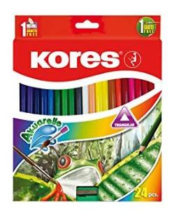 colores akuarelle kores 24pz+pincel