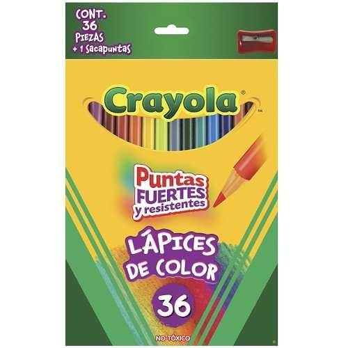 Colores Crayola 36 Piezas + Sacapuntas Envio Gratis - $ 285.00 en ...
