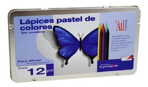 colores pastel 12 piezas atl nuevos dibujo arte