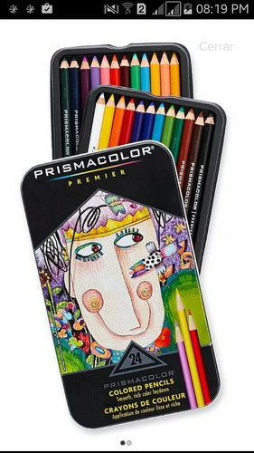 colores prismacolor 24 unidades