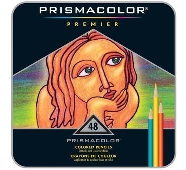 colores prismacolor premier 48 unidades estuche lata nuevo