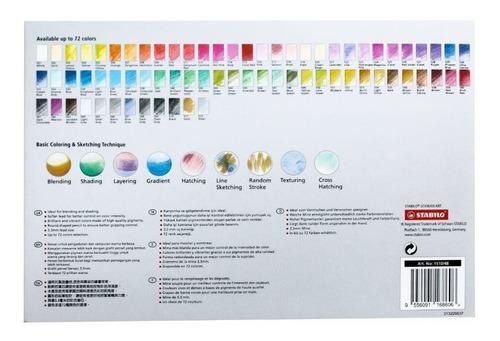 colores schwan art x48 stabilo - unidad a $2812