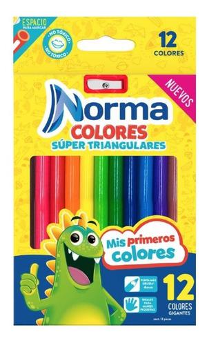 colores super triangular x 12 norma