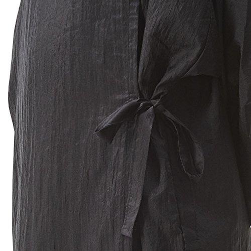 colorfulife salon client dress robe crepe large smock kimono