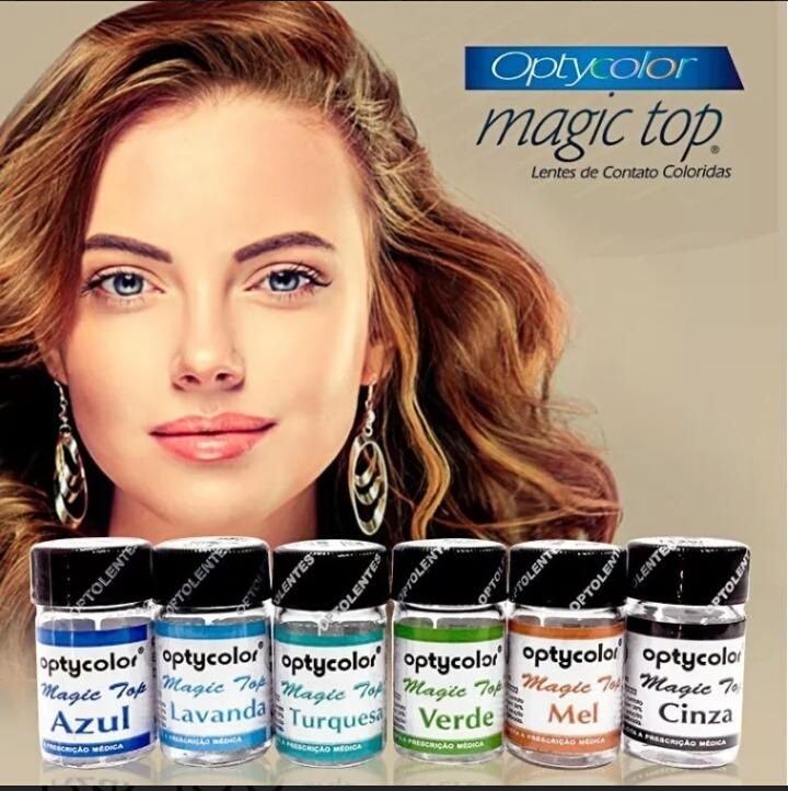 12e4d5e7a Lente De Contato Colorida Magic Top (1/2 Par = 1 Lente) - R$ 99,00 ...