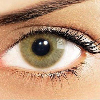 colorida sem lente contato
